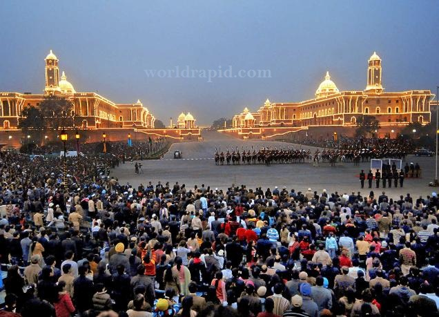 Republic-day-Beating-retreat-ceremony